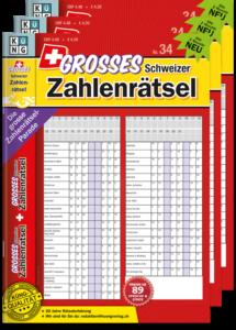 Grosses Schweizer Zahlenrätsel Abo